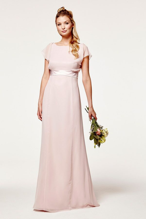 Isla Fitted Blossom Pink Dress