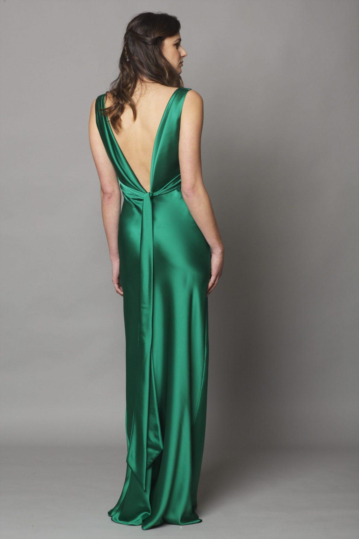 Coco Satin Emerald